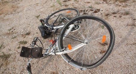 Τροχαίο δυστύχημα με θύμα έναν 18χρονο ποδηλάτη