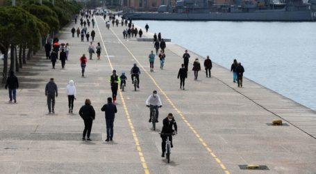 Αίρονται τα μέτρα περιορισμού στη Νέα Παραλία Θεσσαλονίκης