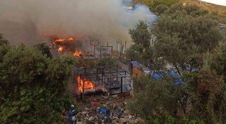 Νέα πυρκαγιά στο ΚΥΤ Σάμου