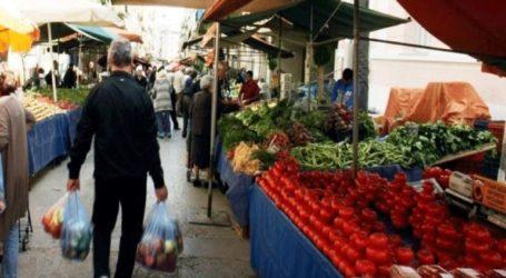 Επαναλειτουργία των λαϊκών αγορών από τις 30 Απριλίου