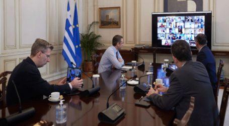 Συνεδριάζει το υπουργικό συμβούλιο υπό τον Κυριάκο Μητσοτάκη