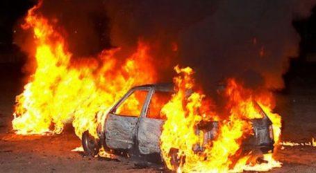 Εμπρησμός δύο αυτοκινήτων στη Θεσσαλονίκη