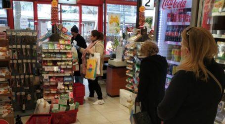 Ανοιχτά σήμερα, Κυριακή των Βαΐων, τα καταστήματα τροφίμων – Το ωράριο για σήμερα και όλη την Μεγάλη Εβδομάδα