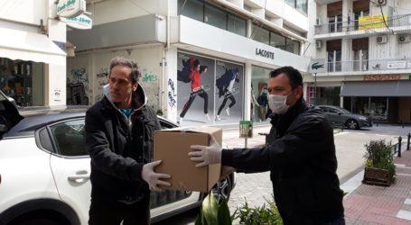 Ξεκίνησε η διανομή μασκώνμε πρωτοβουλία του βουλευτή Μαγνησίας Χρήστου Μπουκώρου