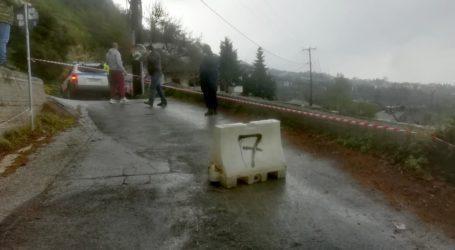 Συνεργεία του Δήμου Βόλου επιχειρούν στη Μακρινίτσα