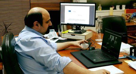 Χρ. Τριαντόπουλος: Τηλεδιάσκεψη με εκπροσώπους του Τουρισμού στη Μαγνησία
