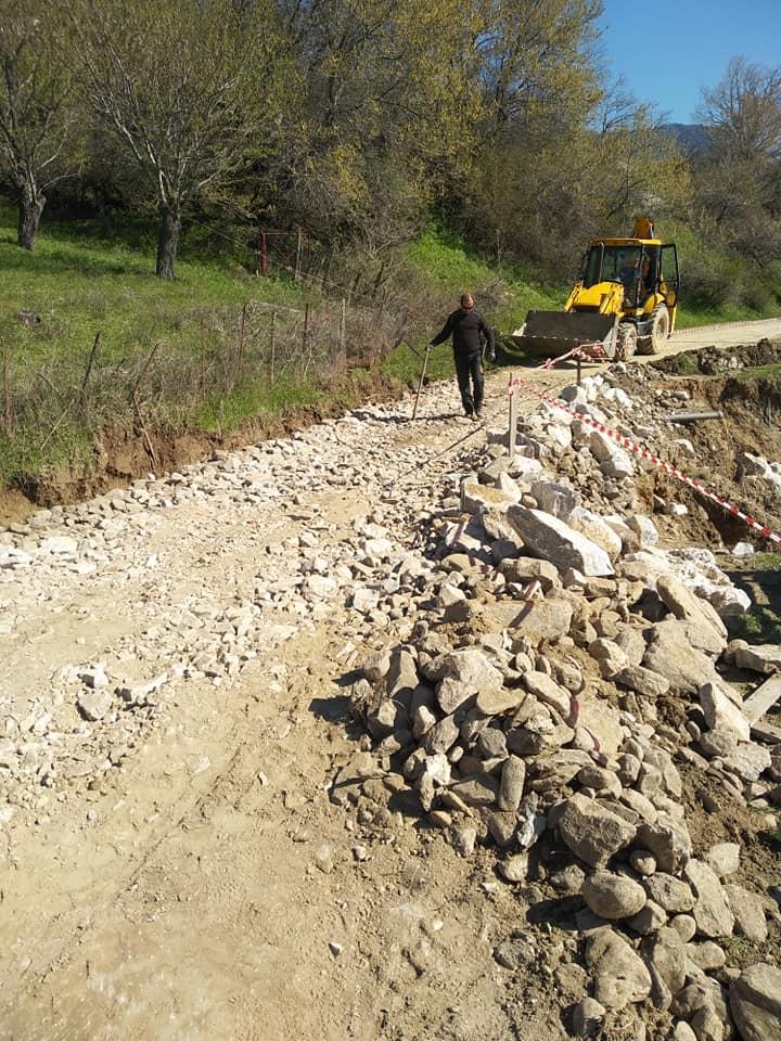 Δήμος Τεμπών: Αποκατάσταση ζημιών στη Σπηλιά