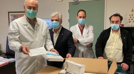 Δωρεά υγειονομικού υλικού προς το Πανεπιστήμιο Θεσσαλίας από το Πανεπιστήμιο CUFE του Πεκίνου