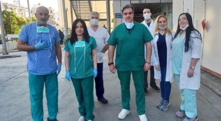 Βόλος: Το μήνυμα γιατρών και νοσηλευτών του Νοσοκομείου για τον κορωνοϊό