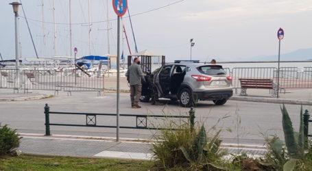 Βόλος: Δύο παραβάσεις απαγόρευσης κυκλοφορίας – Έκανε μπάνιο στη θάλασσα!