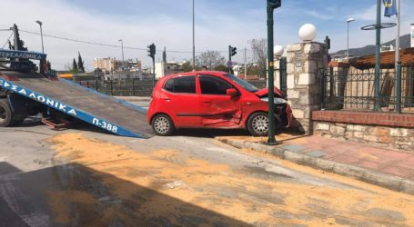 Τροχαίο ατύχημα στον Βόλο – Δείτε εικόνες