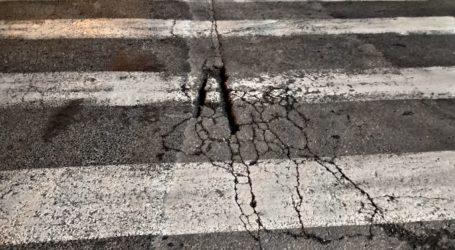 Προβληματικό οδόστρωμα