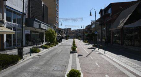 """Υποτονική η κίνηση το πρωί της Πέμπτης στο κέντρο της Λάρισας – """"Παραφωνία"""" και πάλι οι τράπεζες"""