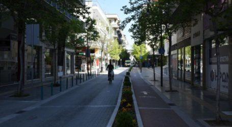 Κλειστή για 48ώρες για τα οχήματα η Μεγ. Αλεξάνδρου στη Λάρισα