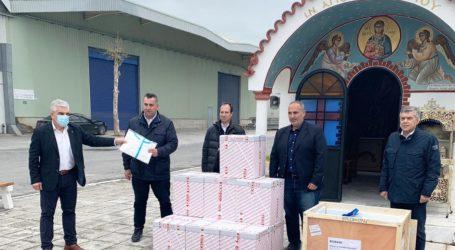 Κινητή μονάδα αρνητικής πίεσης δώρισε στο Πανεπιστημιακό Νοσοκομείο Λάρισας ο όμιλος EXALCO S.A.