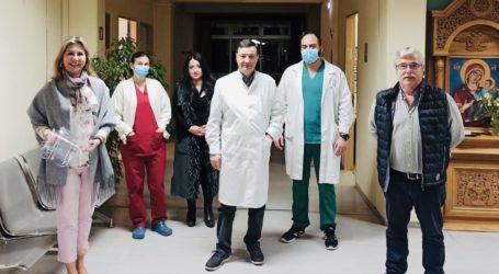 Διανομή μασκών προστασίας στα Κέντρα Υγείας της Μαγνησίας από την Ζέττα Μακρή
