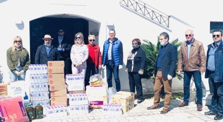 Προσφορά αγάπης στην «Κιβωτό του Κόσμου» από επιχειρηματίες της περιοχής και το πολιτικό γραφείο της Ζέττας Μακρή