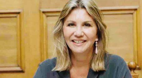 Η Ζέττα Μακρή ζητεί τη λήξη της δέσμευσης από τρίτους των ξένων εκτάσεων, ερήμην των ιδιοκτητών τους, για τις αδειοδοτήσεις των σταθμών ΑΠΕ