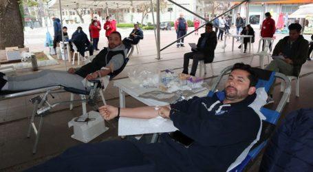 Εθελοντές αιμοδότες οι παίκτες της ΚΑΕ Λάρισα (φωτο)