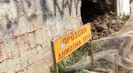 Λάρισα: Άμεση αποκατάσταση τμήματος της οδού Ναυαρίνου ζητούν οι κάτοικοι της περιοχής (φωτο)