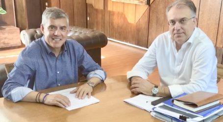 Επικοινωνία του Περιφερειάρχη Θεσσαλίας με τον Υπουργό Εσωτερικών για τις πληγείσες από την κακοκαιρία περιοχές