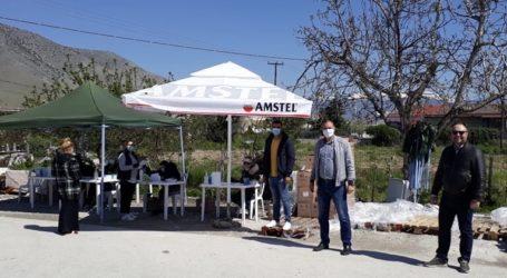 Δήμος Τυρνάβου: Ολοκληρώθηκε η διανομή τροφίμων στους δικαιούχους ΤΕΒΑ