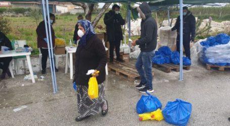 Ξεκίνησε η διανομή τροφίμων μέσω του προγράμματος ΤΕΒΑ στον Τύρναβο