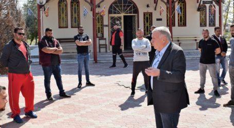 Με αντιπροσωπεία Ρομά συναντήθηκε ο Θανάσης Νασιακόπουλος