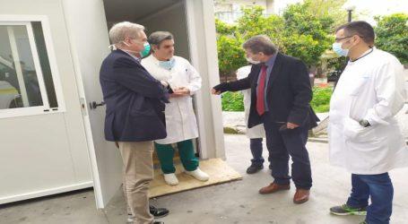 Επίσκεψη του διοικητή της 5ης ΥΠΕ στο Νοσοκομείο Βόλου