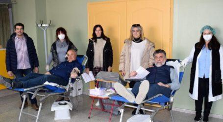Αιμοδοσία στο Δήμο Κιλελέρ στο πλαίσιο της αντιμετώπισης της πανδημίας