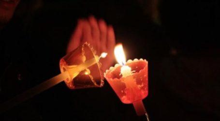 Λάρισα: Πήρε φωτιά το κλιματιστικό και η μπαλκονόπορτα από αναμμένο κερί το βράδυ της Ανάστασης