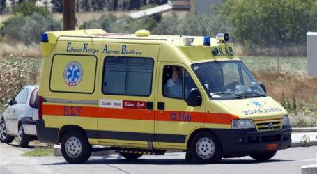 Βόλος: Κατέρρευσε γυναίκα την ώρα που περπατούσε στον περιφερειακό δρόμο