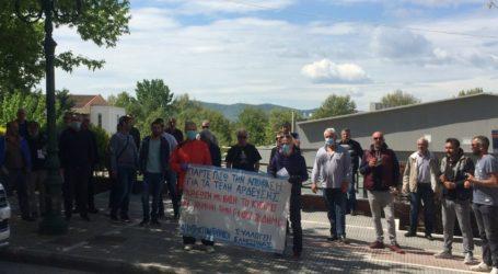 Η Λαϊκή Συσπείρωση Ελασσόνας για την παράσταση διαμαρτυρίας στο δημαρχείο