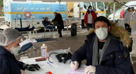 Λάρισα: Έδωσε το …αίμα του ο Αλέξης Γεωργούλης