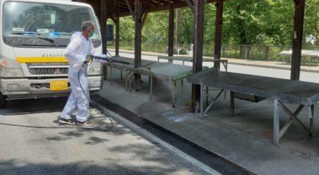 Καθαρισμός και Απολύμανση στη Λαϊκή Αγορά Ελασσόνας