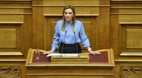 Στέλλα Μπίζιου: Να στηριχθούν οι κτηνοτρόφοι της Θεσσαλίας