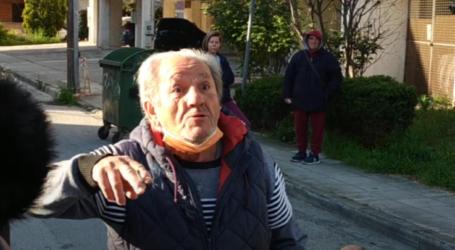 """Αγανακτισμένοι κάτοικοι Νέας Σμύρνης στη Λάρισα: """"Φωνάζαμε 20 μέρες για την κατάσταση"""" (βίντεο)"""