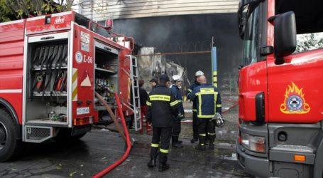Αλμυρός: Φωτιά σε αποθήκες κτηνοτροφικής μονάδας