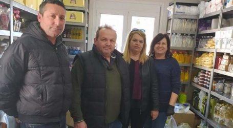 Διανομή τροφίμων για το Πάσχα στους δικαιούχους του Κοινωνικού Παντοπωλείου του Δήμου Τεμπών