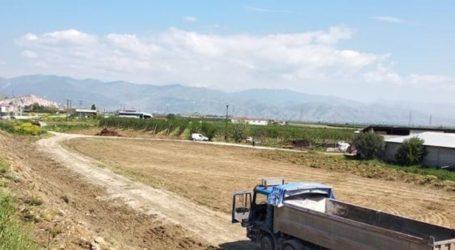 Ξεκίνησαν οι εργασίες κατασκευής του νέου κυκλικού κόμβου στην βορειοανατολική είσοδο του Τυρνάβου