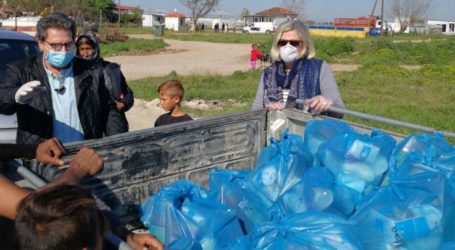 Τρόφιμα σε οικογένειες Ρομά διένειμε ο δήμος Φαρσάλων