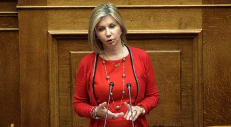 Η Ζέττα Μακρή ζητεί να εξετασθεί η άμεση καταβολή των αποζημιώσεων λόγω σφοδρής χαλαζόπτωσης στους καλλιεργητέςτου Πηλίου