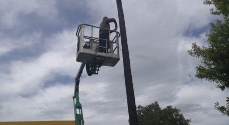 Αντικατάσταση λαμπτήρων ηλεκτροφωτισμού στον Δήμο Ρήγα Φεραίου