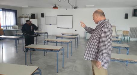Απολυμάνσεις σε σχολεία του Βόλου – Επίβλεψη Μπέου [εικόνες και βίντεο]