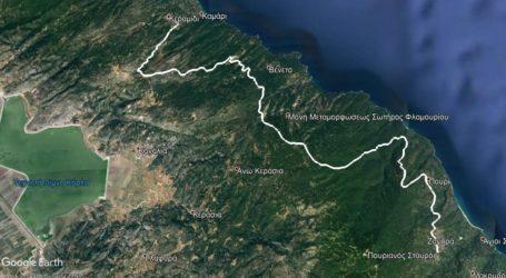 Δημοπρατείται η μελέτη για τη χάραξη της σύνδεσης Κεραμίδι-Ζαγορά