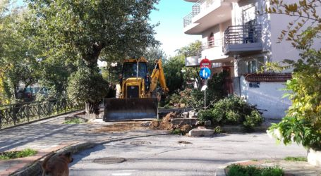 Βόλος: Ξεκινάει την Τετάρτη το έργο της οδού Καραμπατζάκη