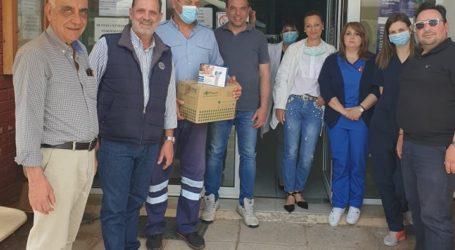 ΟΕΒΕΜ: 1.000 γάντια δωρεά στο Κέντρο Υγείας Αλμυρού