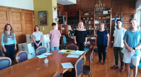 Μαθητές από την Ευξεινούπολη επισκέφθηκαν την Περιφ. Ενότητα Μαγνησίας