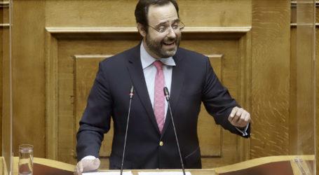 Επίθεση του Κων. Μαραβέγια στον ΣΥΡΙΖΑ για τηδιαχείριση κοινοτικών πόρων και την υπόθεση Παπαγγελόπουλου