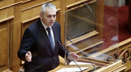 Χαρακόπουλος προς Βορίδη: «Ζημιές από χαλάζι σε Κιλελέρ και παγετό σε Χάλκη»